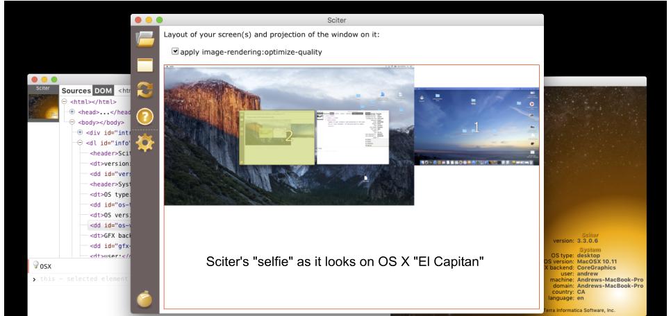 sciter – Multiplatform HTML/CSS UI Engine for Desktop and