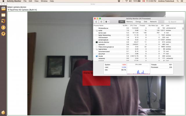 Sciter full screen Retina video.