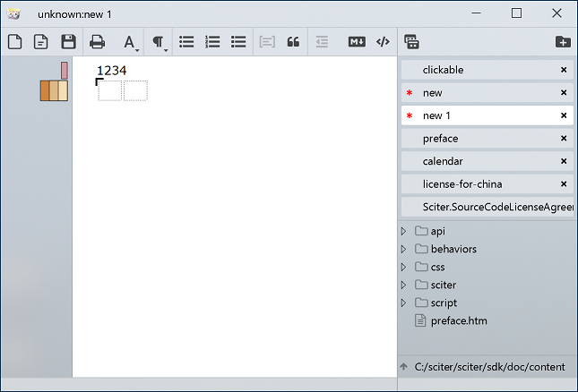 Topic: HTML Notepad is live  / sciter